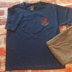 "Santa Cruz Shirts & Tops - Santa Cruz ""The Original"" T-shirt"